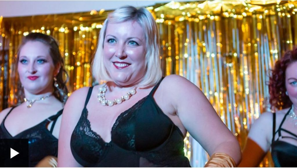 Burlesque lessons boost body confidence